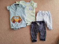Bundle of Boy Clothes 0-3 months Newborn First Size