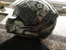 Motorcycle helmet jacket trousers gloves all vgc