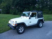1999 Jeep TJ Sport - 4L, 6Cyl Convertible