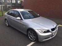 BMW 320d E90 NEW ENGINE e90 WARRANTY + Turbo + AUTO NOT Audi Mercedes Vauxhall Golf