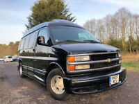 FRESH IMPORT CHEVROLET EXPRESS EXPLORER ASTRO GMC LHD V8 LUXURY MPV LEATHER BED