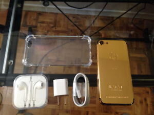 iPhone 7 32GB 24kt Gold Plated Limited Edition - Unlocked
