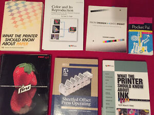 Various Ryerson Textbooks and Print Books for Sale