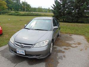 2005 Honda Civic Sedan CERTIFIED AND E TESTED!