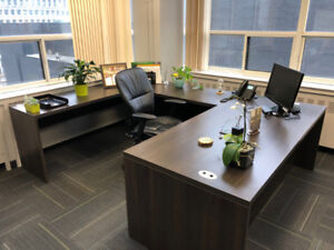 High end, solid executive desk FREE for pickup
