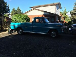 1970 Ford F-250 low mileage one owner truck