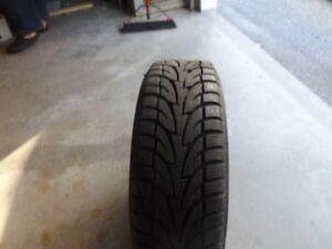 4 -  215/60/17 Sailun Ice Blazer tires on rims
