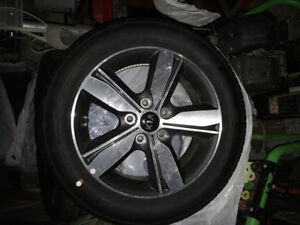 16 inch aluminum rims and tires