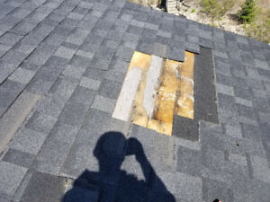 Roofing repairs/wind damage $150