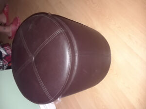Selling ottoman faux leather SOLD!@@