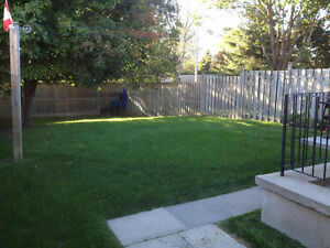 BRIGHT,  CLEAN 3-bdrm APT WITH YARD avail. Oct. 1st!