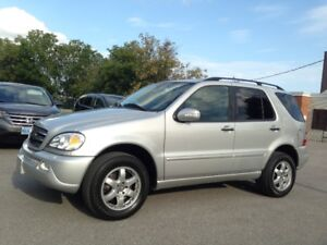2003 MERCEDES-BENZ ML500 NAVIGATION BLUETOOTH LEATHER LOADED