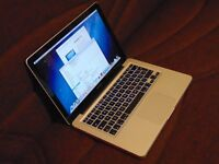 """***13"""" APPLE MACBOOK PRO-MAX UPGRADED SPEC-2.4GHz-16GB RAM+250GB SSD+ALL THE LATEST APPS-BARGAIN***"""