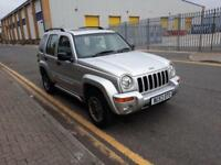 2003 Jeep Cherokee 2.8 TD Limited 4x4 5dr