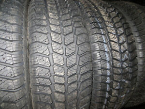 P215/55R17 NEW WINTER TIRES  $71.00 EACH