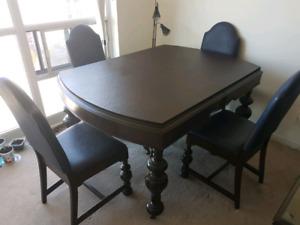 Antique dining set for sale