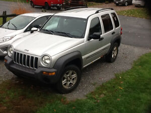 2003 Jeep Liberty Sport VUS