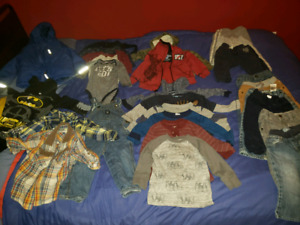 12 to 18 month old boys fall clothes
