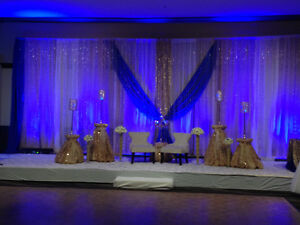 Backdrops $200 all styles and colours with Led lights Edmonton Edmonton Area image 5