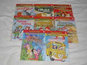 THE MAGIC SCHOOLBUS - CHAPTERBOOKS - GREAT SELCTION - L@@K!