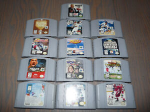N64 sports collection