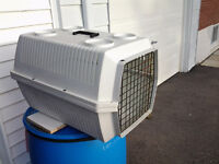pet voyager transport cage/cage for dog or cat