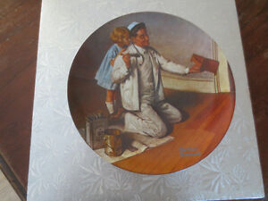 Collector Norman Rockwell Plate
