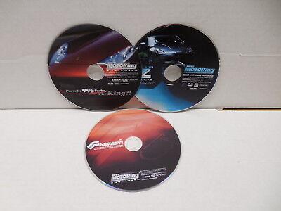 Best Motoring DVDs X3 NO CASES Fast Fuji Porsche 996 Turbo 350 ZZ Shock (Best Motoring Dvds)