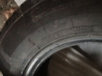 4 All season tires used from may 1 and removed thursday