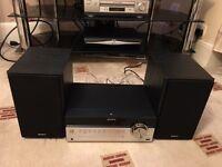 Sony CD Micro System SBT100B (Bluetooth/USB/CD/Radio)