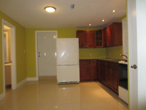 One bedroom basement apartment with separate entrance