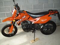 PULSE ADRENALINE 125cc, 2009 model, low mileage, new tyres front & rear