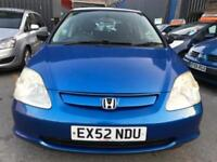 2002 Honda Civic 1.4 i Vision Limited Edition 5dr