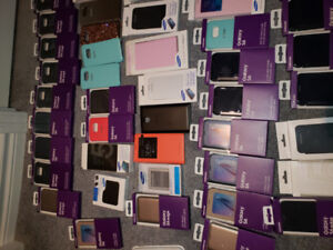 Samsung Assorted Original cases majority S6 and a few other item