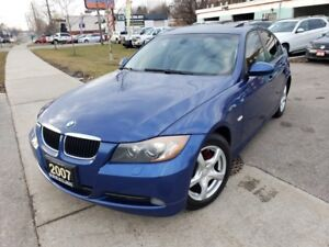 2007 BMW 3 Series 4dr Sdn 328xi AWD, Leather , Roof . Fully Powe