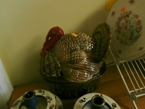 Unusual Turkey Cookie Jar at KeepSakes at the Carson Flea Market