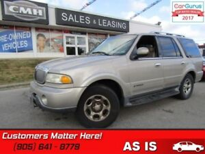 2001 Lincoln Navigator   4X4 (AS IS - UNCERTIFIED AS TRADED IN)