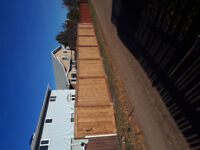 Low price wood fence install 780 993 7771