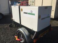 Pramac P11000 S towable generator 10.8 kva ( no vat )