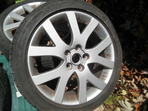 2007 Mazda6 GT mags 215/45R18 (3 mags)