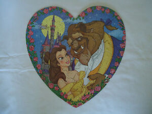 Children's Disney puzzles Beauty and the Beast Little Mermaid