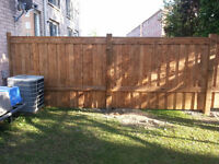 PROFESSIONAL FENCE REPAIR AND NEW FENCE INSTALL ****QUALITY****