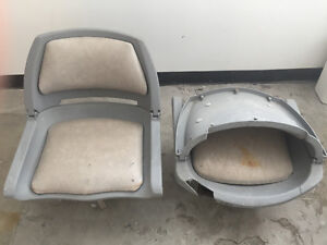 2 Boats Seats Ideal for Aluminum Boats