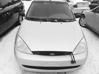 01 Ford Focus Wagon Auto. /211 Km. Drives Well! $1,900  220-4800