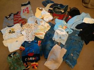 29 piece lot of boys clothing size 6-12 months