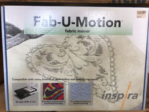 Fabric mover for sewing  machine