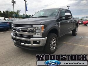 2017 Ford F-250 Super Duty Lariat  ULTIMATE PACKAGE, QUAD BEAM L