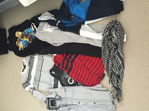 Whole new wardrobe!!!! Men and some Women's clothes