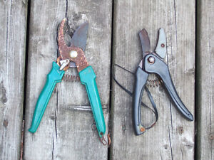 2 pairs of Secateurs (pruners) - $4 for both