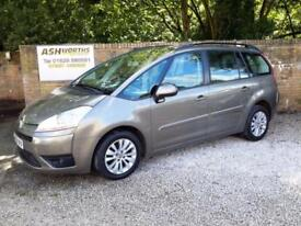 2009 Citroen Grand C4 Picasso 1.6HDi 16v EGS VTR+ HPI CLEAR ! 7 SEATER !
